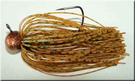Pumpkinseed -Green Chrome Jig