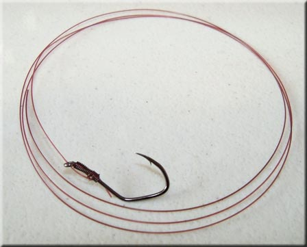 Steelhead Snelled Hook